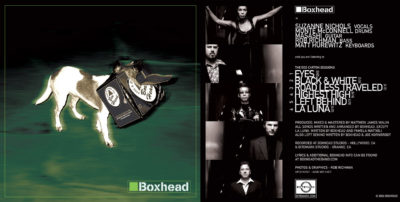 Boxhead - CD Cover