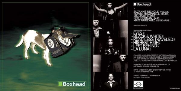 Boxhead - CD Cover