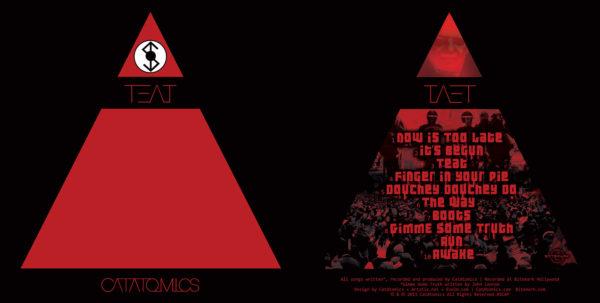 Catatomics - CD Cover