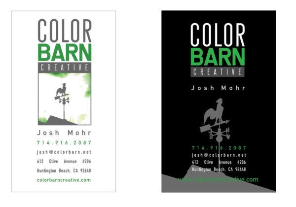 Color Barn - Logo + Business Card