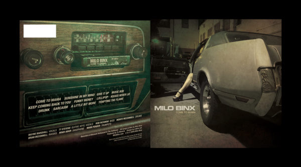 Milo Bix - CD Cover