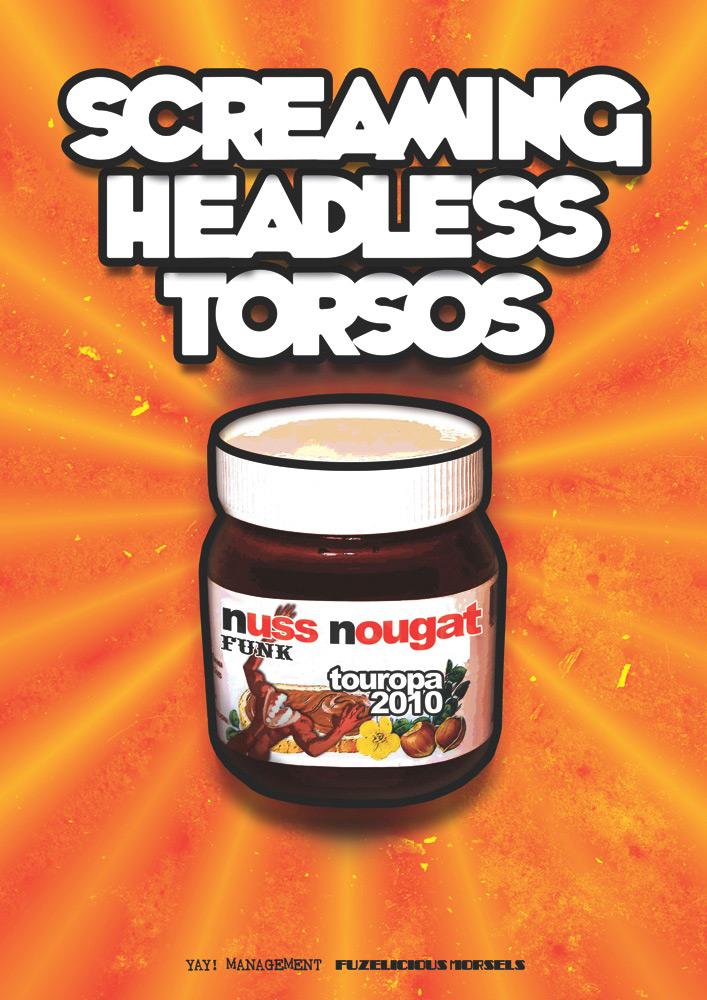 Screaming Headless Torsos - Poster
