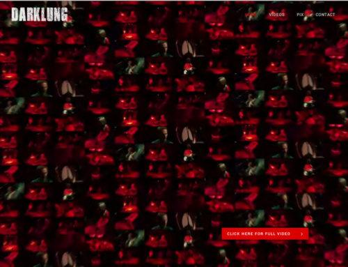 Darklung – New Site + CD Design