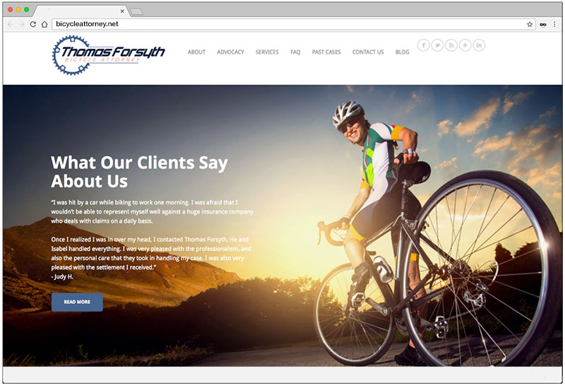 Thomas Forsyth - Bicycle Attorney